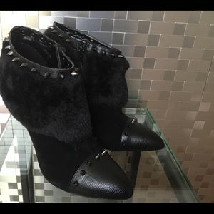 Shoes - Spiked Ankle Booties New without tags